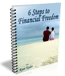 6 steps to financial freedom